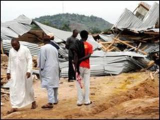 Quang cảnh sau các vụ tấn công ở miền Bắc Nigeria