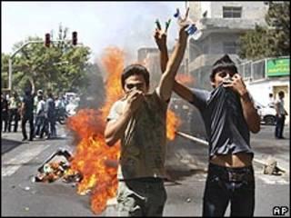 مظاهرة في طهران