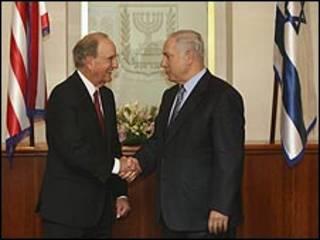 جورج میچل و آقای نتانیاهو