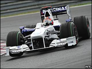 Automóvil del equipo BMW Sauber