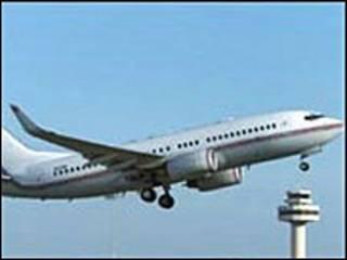 طائرة استخدمت في رحلات سي آي ايه السرية