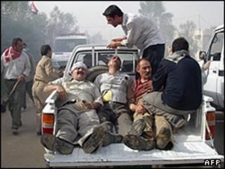 زخمی های عملیات اردوگاه اشرف