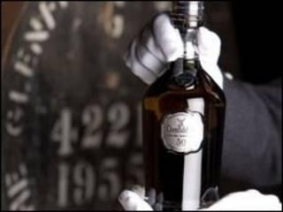 Garrafa do Glenfiddich 50 anos. Foto: John Paul / Glenfiddich Destillery