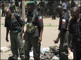 قوات أمن نيجيرية