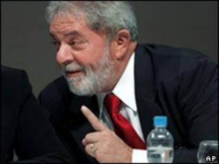 "Luiz Inácio ""Lula"" da Silva, presidente de Brasil"