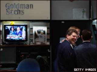 Ejecutivos de Goldman Sachs