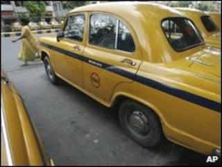 Táxi em Calcutá