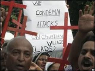 تظاهرات در لاهور