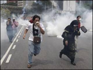 تظاهرات ماليزيا