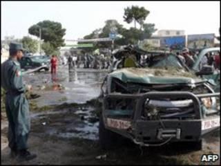 صحنه حمله روز دوشنبه در هرات