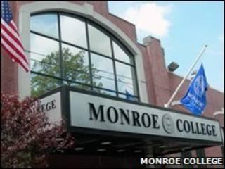 Fachada do Monroe College (Foto: Divulgação)