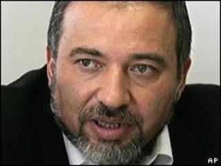 Avigdor Lieberman (arquivo)