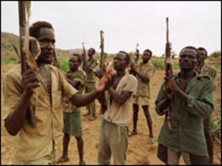 مسلحون سودانيون