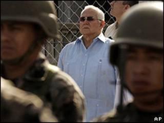 Roberto Micheletti, presidente del gobierno interino de Honduras.