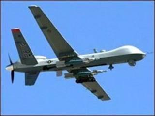 Avião não-tripulado dos EUA