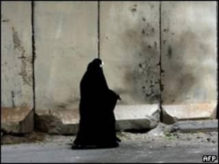 Защитные заграждения в Багдаде