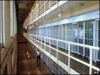 Cárcel en Estados Unidos (foto de archivo).