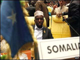الرئيس الصومالي شيخ شريف شيخ أحمد