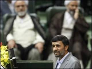 الرئيس الإيراني، محمود أحمدي نجاد
