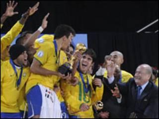 Brazil, dhowr jeer ayay koobka qaaday