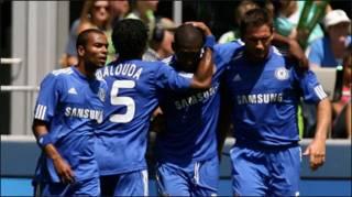 Cầu thủ Chelsea sau pha ghi bàn