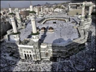 Muçulmanos durante peregrinação a Meca (AP, arquivo)