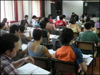 Alumnos. Gentileza: Universidad Nacional de Cuyo