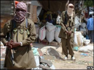 مسلحون اسلاميون في الصومال