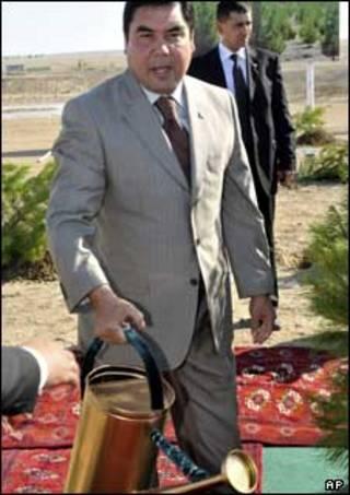 قربانقلی وردی محمدف، رئیس جمهور ترکمنستان