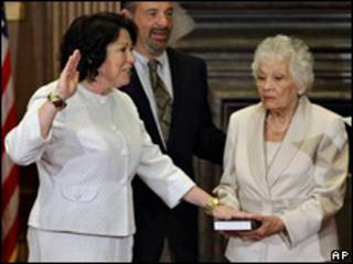 Sonia Sotomayor en el Tribunal Supremo de EE.UU.