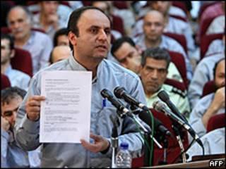 Hossein Rassam, empleado de la embajada británica en Teherán