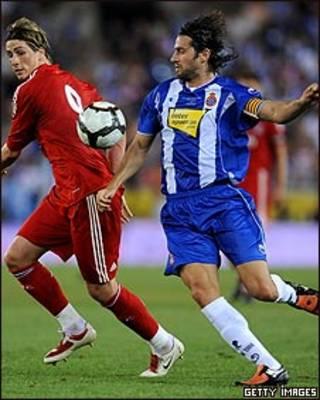 Daniel Jarque, futbolista español muerto por un infarto.