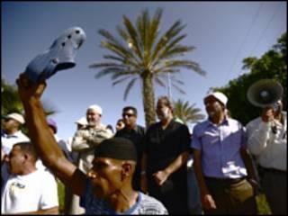 بدو من اسرائيل يتظاهرون ضد التمييز