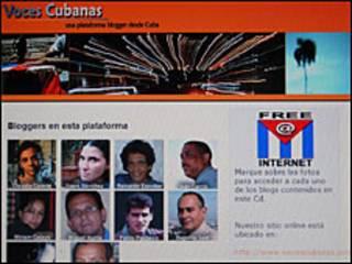 Contenido del CD de blogueroas cubanos