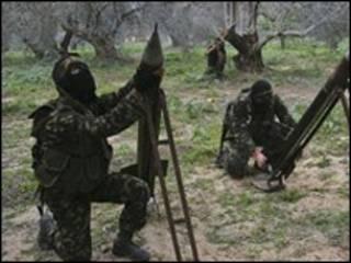 قاذفو صواريخ حماس