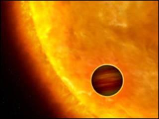 Экзопланета (рисунок)