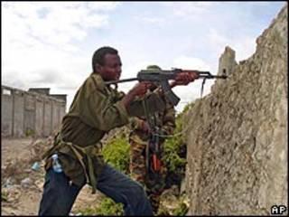 مسلح صومالي