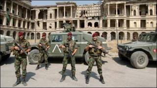 ایساف ځواکونه په افغانستان کې