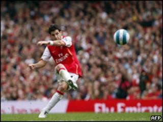 Arsenal, equipo de la Liga Premier