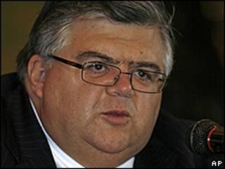 Agustín Carstens, ministro de Finanzas
