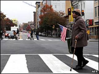 أحد شوارع واشنطن