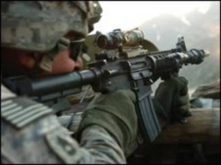 جنود في أفغانستان
