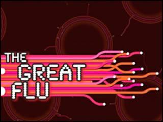 """Imagen de la página de internet del videojuego """"The Great Flu"""""""
