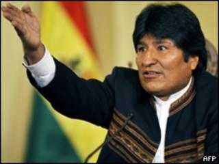 Evo Morales (Foto de archivo)