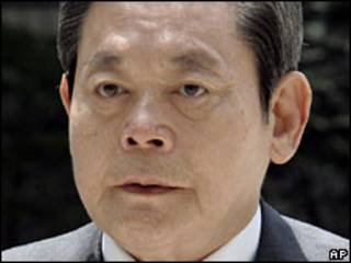 المدير السابق لشركة سامسونج، لي كون-هي