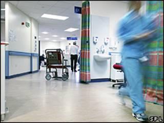 مستشفى في بريطانيا