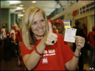 Turista alemã que foi à Itália para comprar bilhetes de loteria (AP, 13 de agosto)