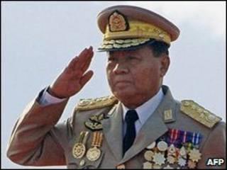 الحاكم العسكري لبورما، الجنرال ثان شوي