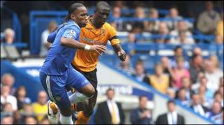 |Drogba trận Chelsea gặp Hull (Getty)