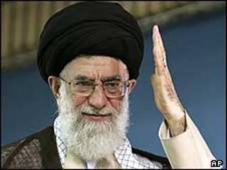 O líder supremo do Irã, o aiatolá Ali Khamenei